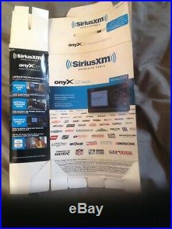 SiriusXM Onyx XDNX1V1 For SiriusXM Car & Home Satellite Radio Receiver