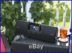 SiriusXM Radio Dock&Play Bluetooth Speaker with Aux Input Portable Audio System