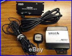 SiriusXM SC-C1 (SCC1) Sirius Connect Vehicle Tuner Clarion CLA-SC1