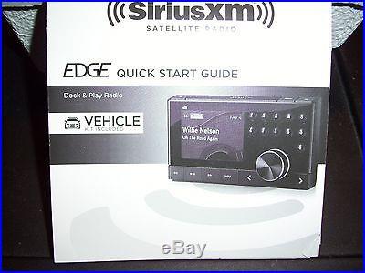 SiriusXM SX1EV1 Radio With Vehicle Kit