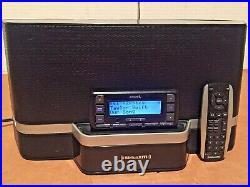 SiriusXM SXABB2 Portable Satellite Radio Speaker Dock & Stratus 6 LIFETIME SUB