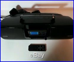 SiriusXM SXSD2 Portable Speaker Dock BOOMBOX + Sirius Xm Radio Onyx EZ Receiver