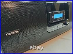 SiriusXM SXSD2 Portable Speaker Dock BOOMBOX Xm Radio & Stratus Receiver