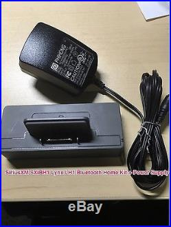 SiriusXM SXi1 Lynx Wi-Fi Enabled Portable Radio + Bluetooth Home Kit MINT
