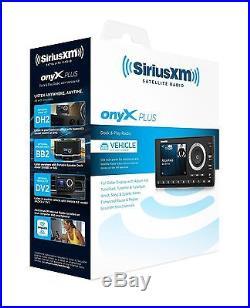 SiriusXM Satellite Radio SXPL1V1 Onyx Plus with Vehicle Kit (Black) New