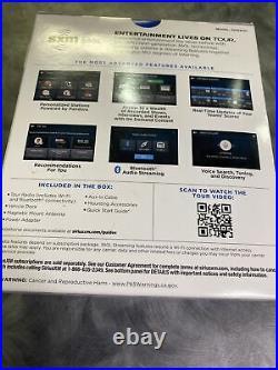 SiriusXM Tour Satellite Radio Receiver with 360L Vehicle Kit Black