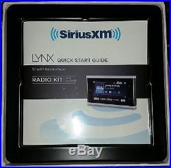 SiriusXM XM Lynx Portable Radio Kit for Satellite Model SXi1