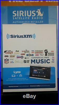 SiriusXM XM Lynx Portable Radio Kit with Vehicle Kit Brand New Factory Sealed