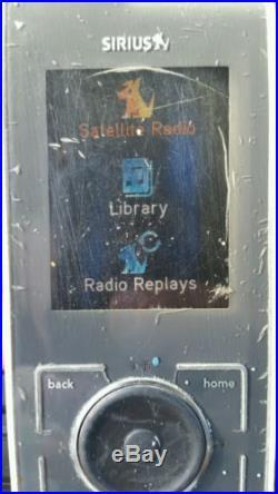 Sirius Active Lifetime subscribtion Satellite Radio Stiletto SL 10 unit