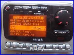 Sirius Audiovox SIRPNP2 Radio Receiver SIR-BB1 Boombox-LIFETIME SUBSCRIPTION