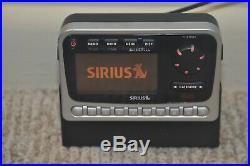 Sirius Audiovox SIRPNP2 Satellite Radio & SIR-BB1 Boombox activated Howard Stern