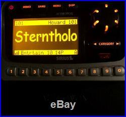 Sirius Audiovox SIRPNP2 satellite radio receiver with LIFETIME subscription