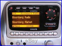 Sirius Audiovox SIR-PNP2 Radio Active Subscription withSIR-BB1 Boombox