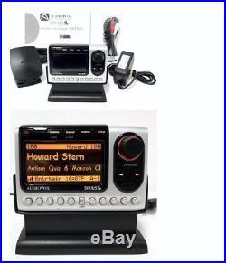 Sirius Audiovox Shuttle PNP3 ACTIVE Radio LIFETIME SUBSCRIPTION + Home Kit XM