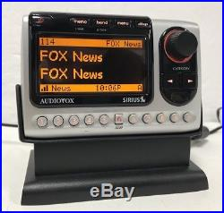 Sirius Audiovox Shuttle PNP3 ACTIVE Radio LIFETIME SUBSCRIPTION + Home Kit XM #1