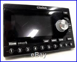 Sirius Clarion Calypso Currently ACTIVATED Radio POSSIBLE LIFETIME + Home Kit EX