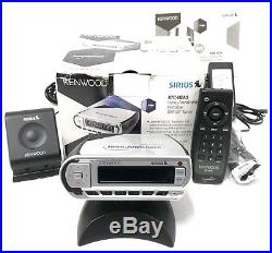 Sirius Kenwood Here2Anywhere ACTIVE Radio with LIFETIME SUBSCRIPTION + Home Kit XM