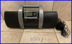 Sirius Lifetime Subscription Guaranteed Radio with SubX1R Boombox WORKS Great