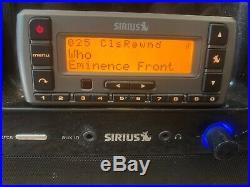 Sirius Lifetime Subscription SV3 Radio with SubX2 Boombox