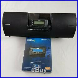 Sirius Lifetime Subscription Stratus 6 Radio with SubX2 Boombox and Car Kit