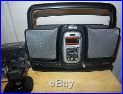 Sirius Lifetime Subscription XACT XTR1 with XS025 BOOMBOX + CAR KIT BUNDLE