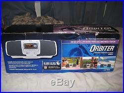 Sirius Orbiter Satellite Radio / Boombox (lifetime Subscription)