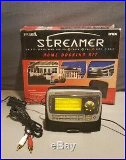Sirius Orbiter XM Radio Receiver SR4000 withHome Kit & Lifetime Subscription