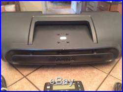 Sirius Radio Boombox (subx2) with Receiver (sv5) Great Shape! Works Perfectly