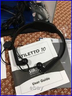 Sirius SL10 Portable SATELLITE Radio SL10-PK1 Stiletto 10 KIT