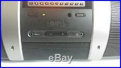 Sirius SP3 Sportster 3 Satellite Radio Receiver WithSUBX1 Boombox & SUBSCRIPTION