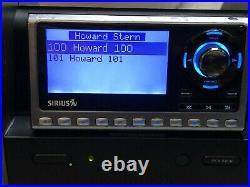 Sirius SP4 Sportster 4 Satellite Radio Receiver Active Subscription HOWARD STERN