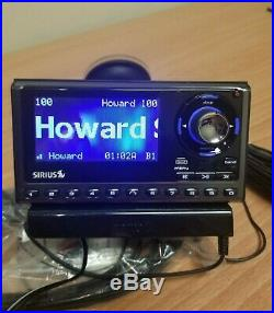 Sirius SP5 Sportster5 Radio Receiver with Dock. Lifetime Subscription Howard Stern