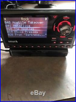 Sirius SP5 Sportster5 Receiver with Car Kit. Lifetime Subscription Howard Stern