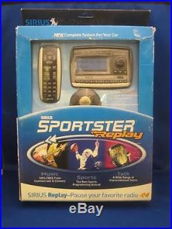 Sirius SPORTSTER REPLAY Satellite Radio Stereo Complete Car Kit NEW SP-TK2