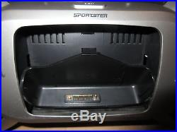 Sirius SPORTSTER SP-R2R Lifetime Subscription Radio withSP-B1a BOOMBOX