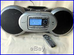 Sirius SPORTSTER SP-R2R Lifetime Subscription Radio with HOME DOCK SP-B1 & REMOTE