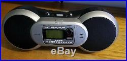 Sirius SPORTSTER Satellite Radio Portable Boombox SP-B1R Receiver (LIFETIME)