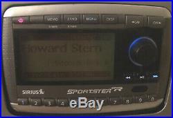 Sirius SP-R2R Sportster XM Satellite Radio Active subscription Howard Stern