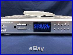 Sirius SR-H550 Home Satellite Receiver Remote & Antenna Very Clean 100% Working