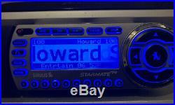 Sirius ST2-R Satellite Radio w Boom box Antenna LIFETIME SUBSCRIPTION Starmate R