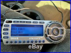 Sirius ST2 Starmate satellite radio receiver with LIFETIME subscription