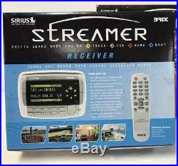 Sirius STREAMER PNP CURRENTLY ACTIVE Radio Possible LIFETIME + NEW Home Kit LOW