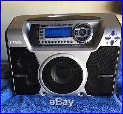 Sirius ST-2R Satellite Radio WithST-B2 Speaker box Lifetime Activated