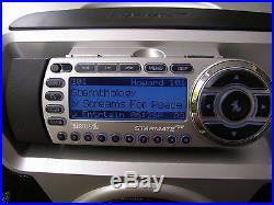 Sirius ST-2R Satellite Radio WithST-B2 Speaker box Lifetime Activated Guaranteed++