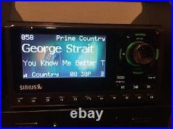 Sirius SUBX1R Satellite Radio Boombox with Sportster 5 Lifetime Subscription