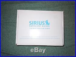 Sirius SV2 Satellite Receiver Radio LIFETIME SUBSCRIPTION. EXTRAS