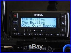 Sirius SV5 Active Lifetime Radio withSXSD2 Boombox & Remote Control
