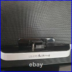 Sirius SXABB1portable Speaker Dock-Sirius/XM Radio-2remotes, antena-NO Radio