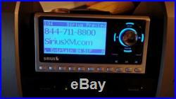 Sirius Satellite Radio Boombox Subx1 SP4 Sportster 4 XM with antenna Bundle
