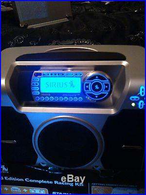 Sirius Satellite Radio Limited Edition Complete Racing Kit Starmate Replay